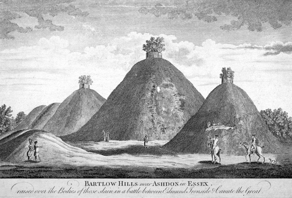 Detail of Bartlow Hills near Ashdon in Essex by Anonymous