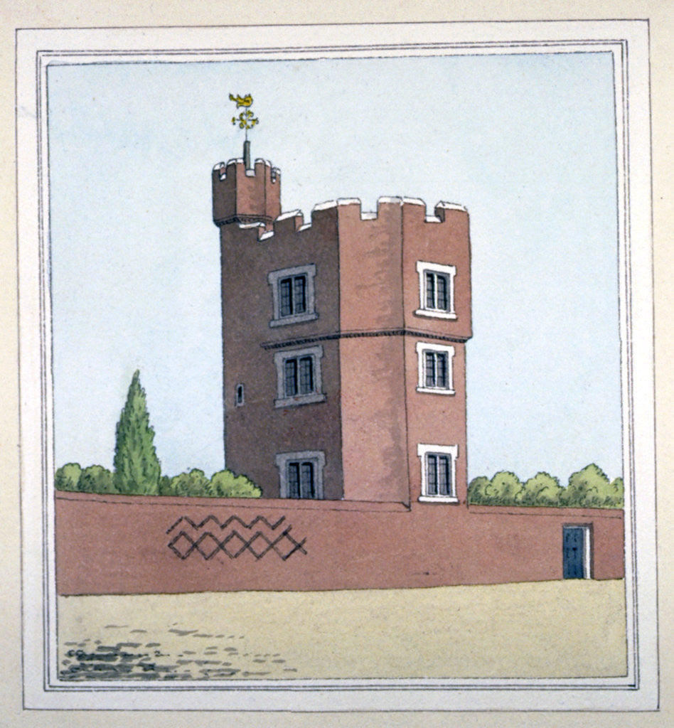 Detail of Lady Garret's Tower, Green Street House, East Ham, Newham, London by Anonymous