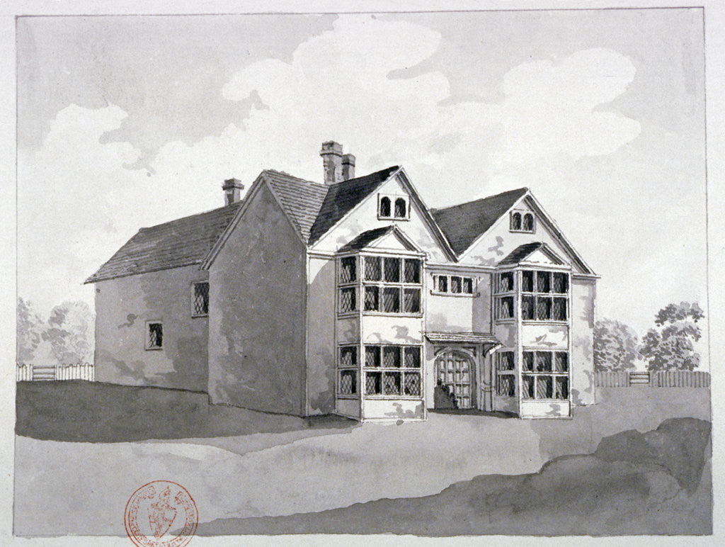 Detail of View of the Manor House at Little Ilford, Newham, London by Anonymous