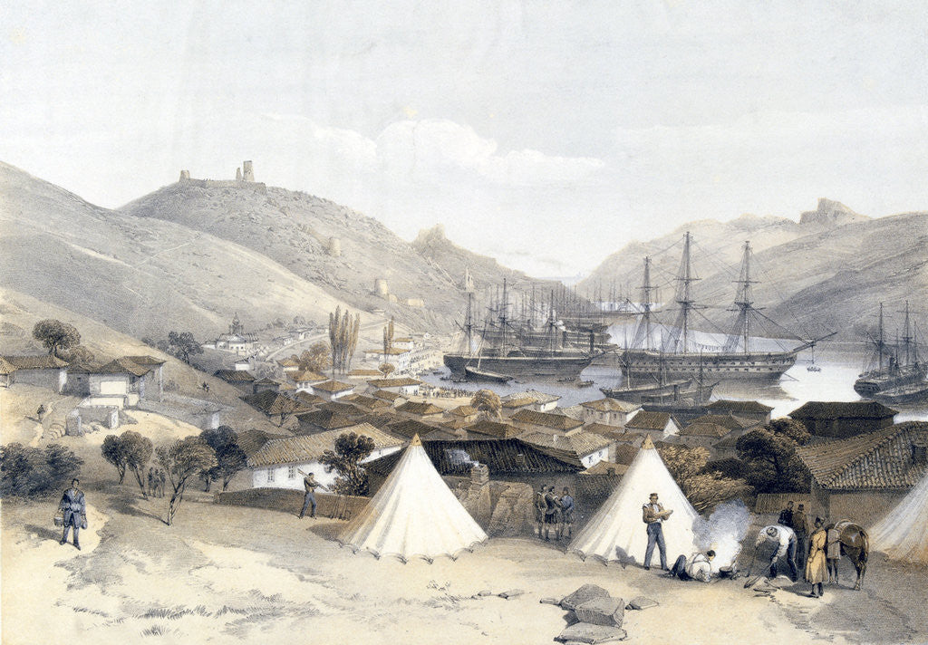 Detail of Balaklava Looking Towards the Sea by W Walton