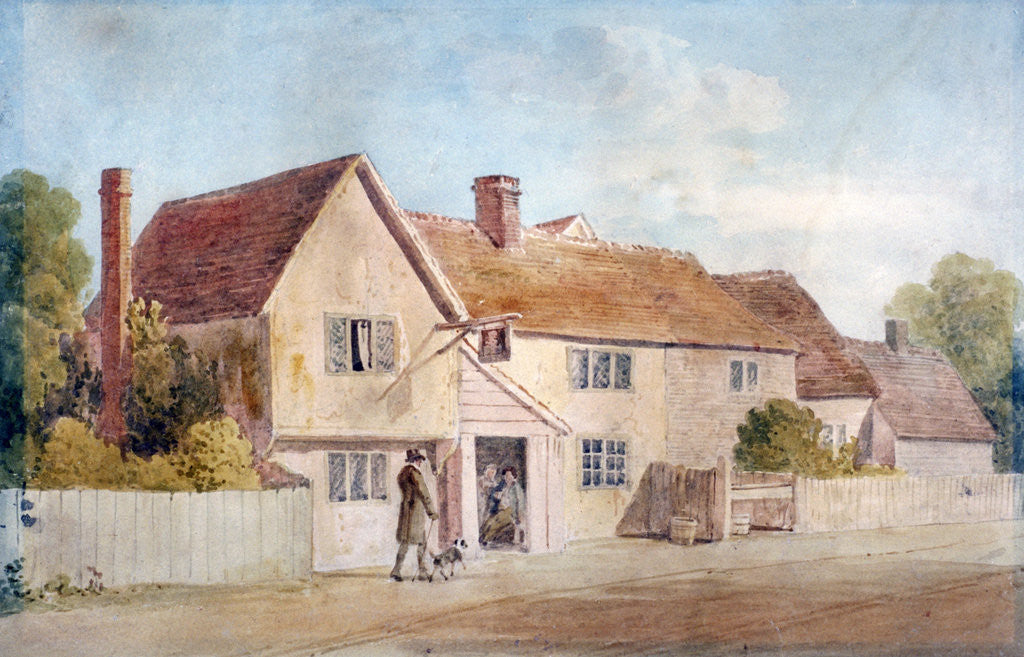 Detail of Cottages at Chadwell, Essex by