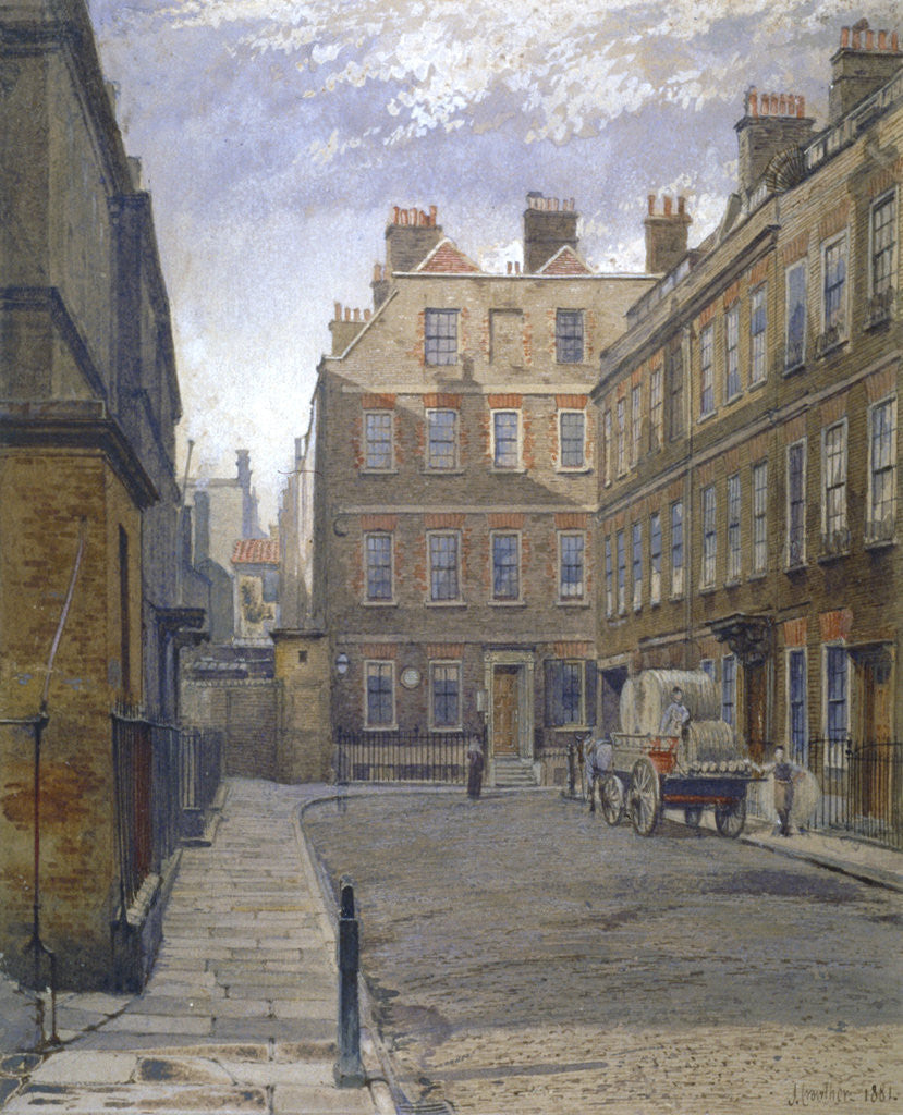 Gough Square, London by John Crowther