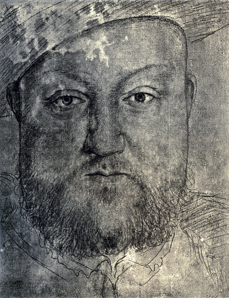 Detail of Henry VIII by Hans Holbein The Younger