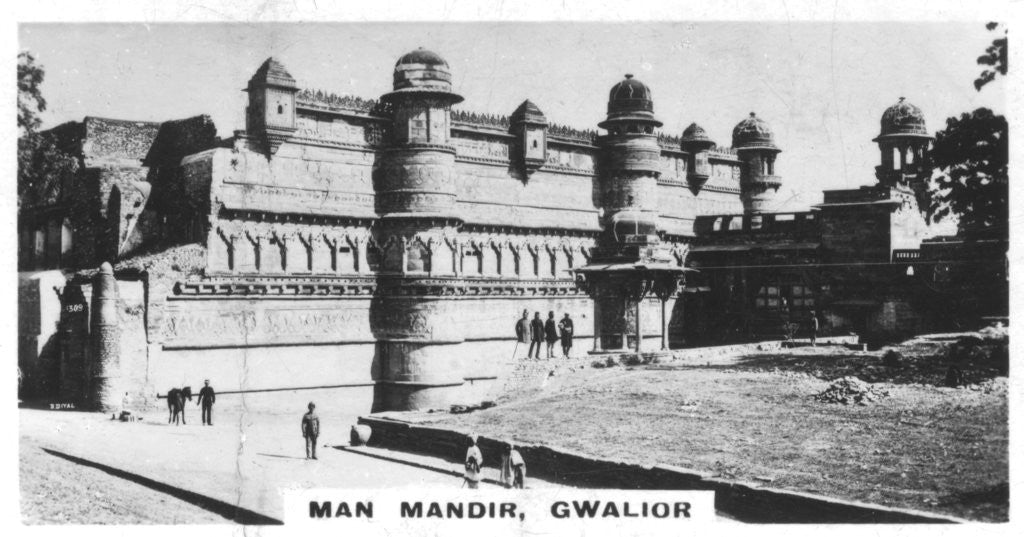 Detail of Man Mandir, Gwalior, Madhya Pradesh, India by Anonymous