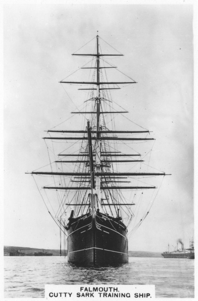 Detail of 'Cutty Sark', Falmouth by Anonymous