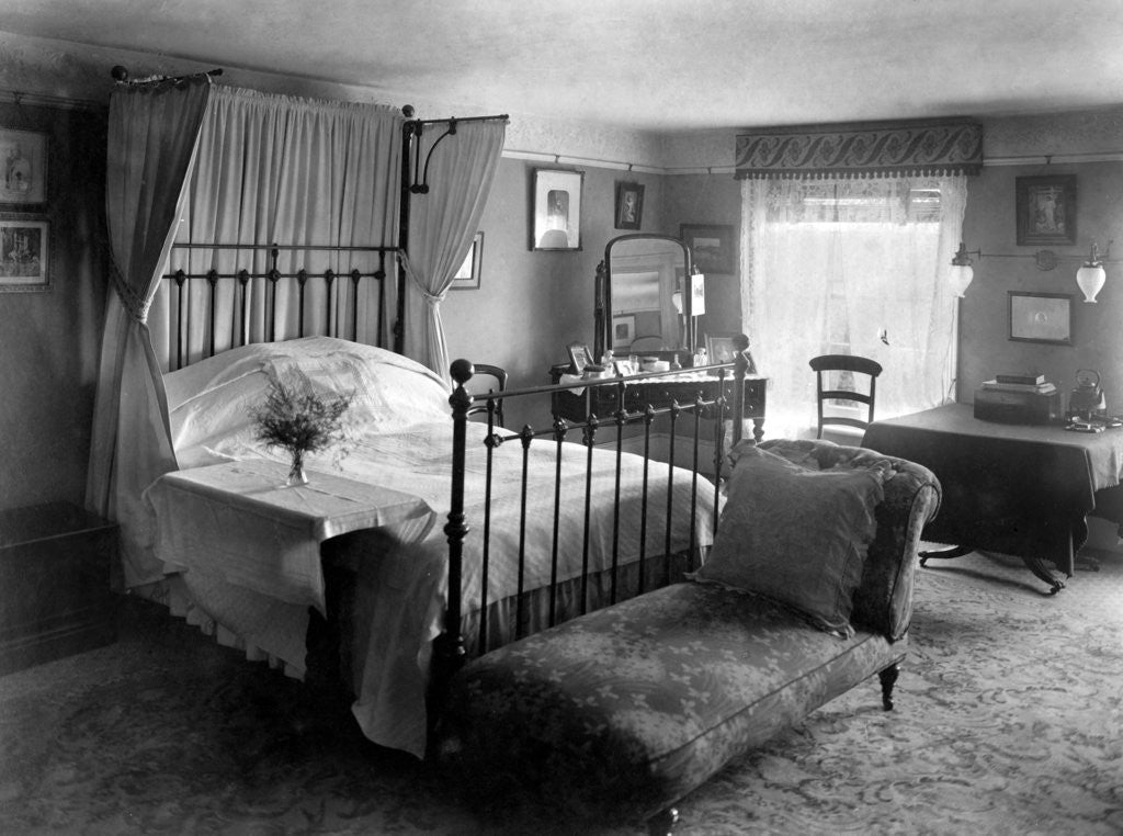 Edwardian Bedroom Posters Prints By Anonymous