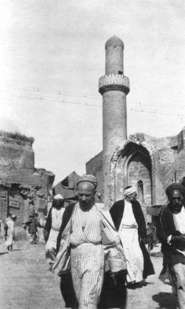 Detail of Arab street scene, Iraq by Anonymous