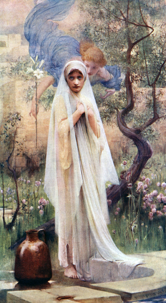 The Annunciation Posters Amp Prints By Arthur Hacker