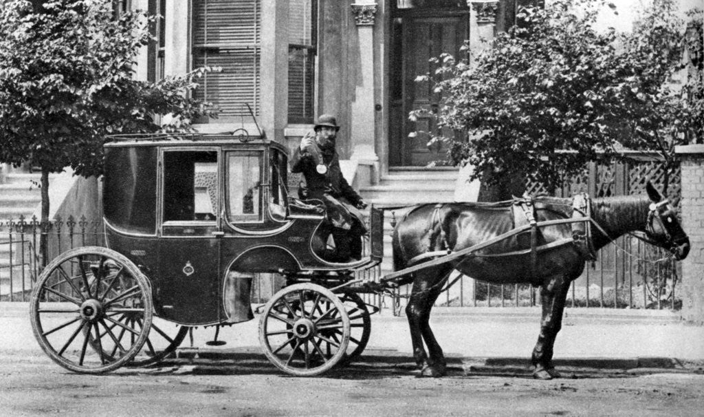 a horse drawn carriage london posters prints by anonymous