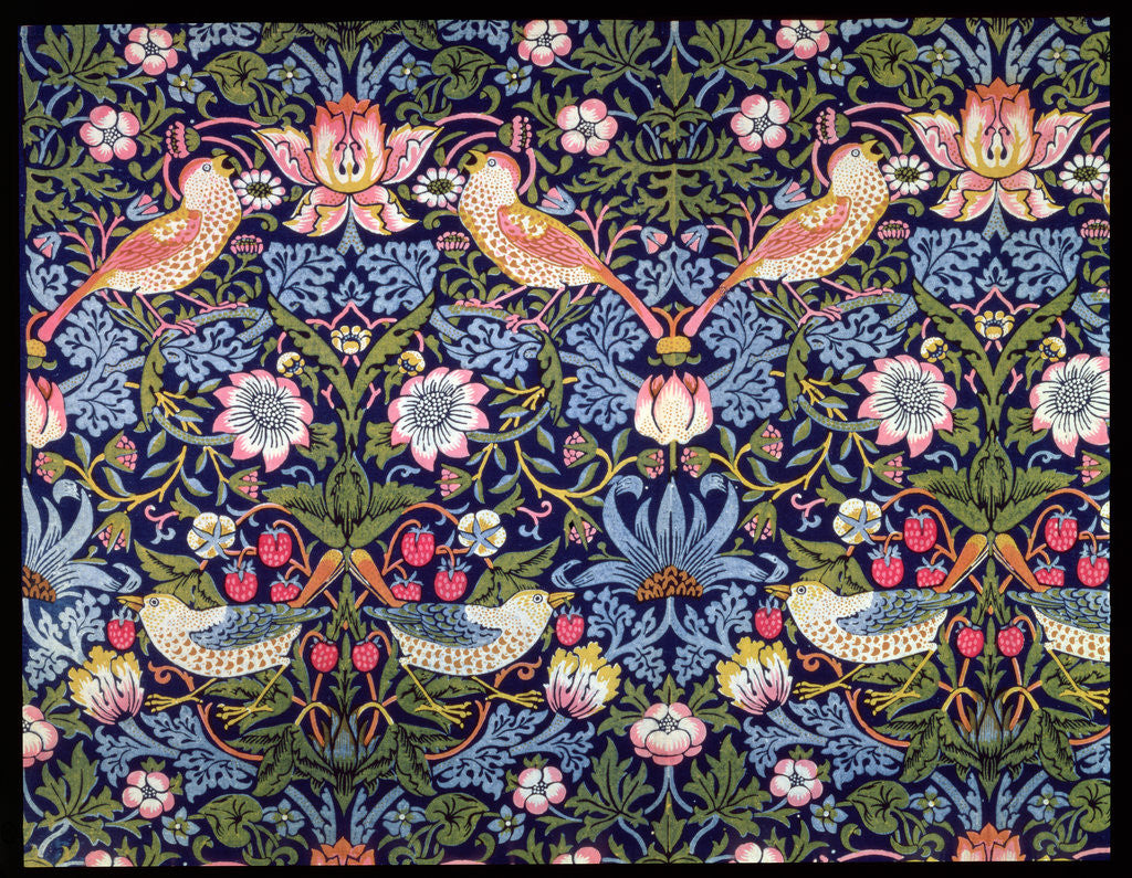 The strawberry thief posters prints by william morris for Arts and crafts style prints