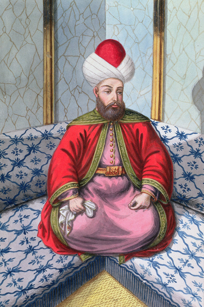 Detail of Orhan I, Ottoman Emperor by Anonymous