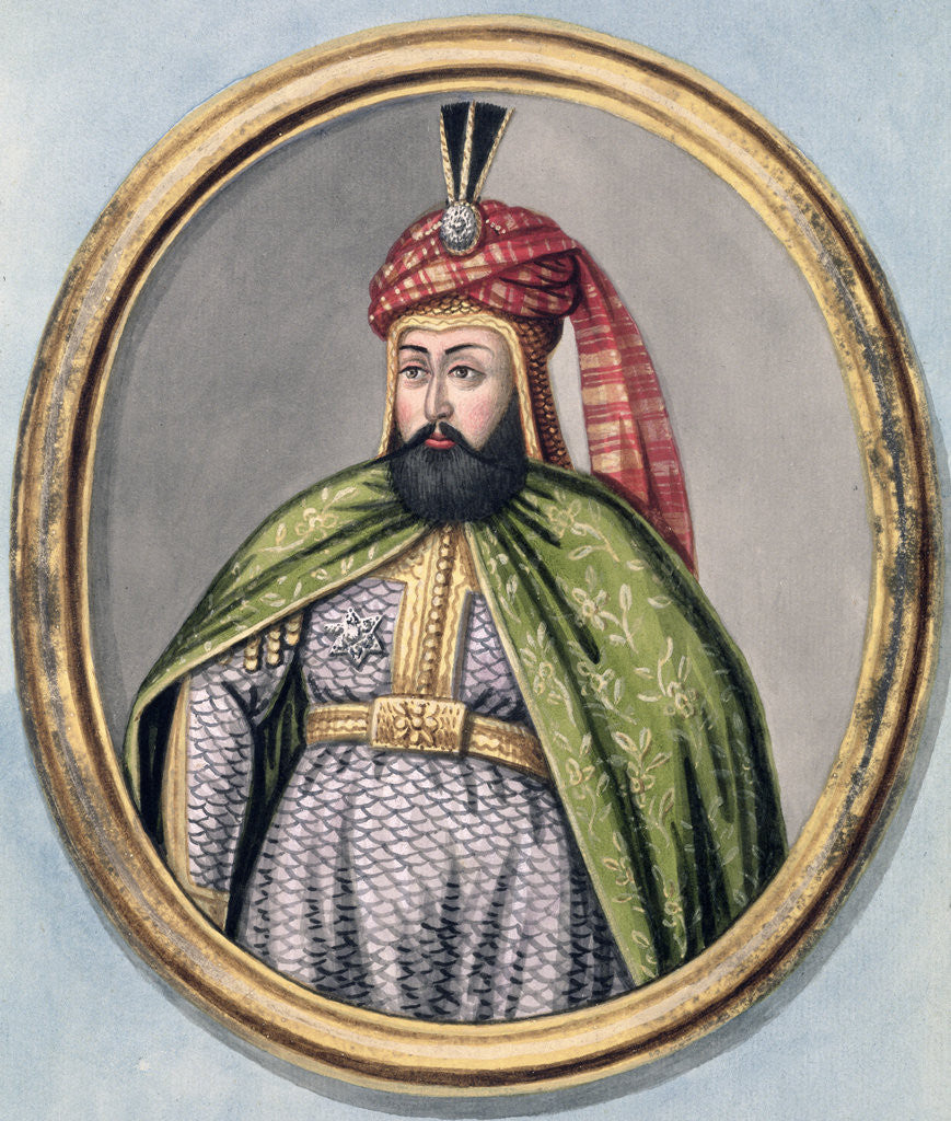 Detail of Murad IV, Ottoman Emperor by John Young