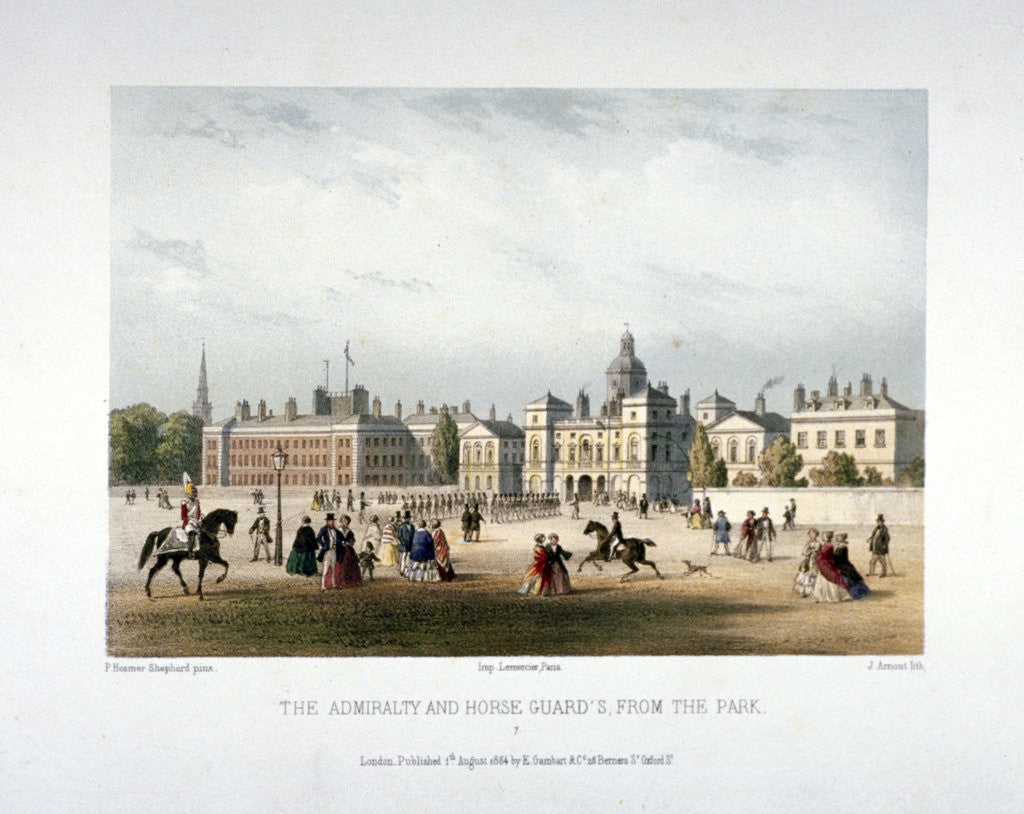 Detail of Admiralty and Horse Guards, Whitehall, Westminster, London by