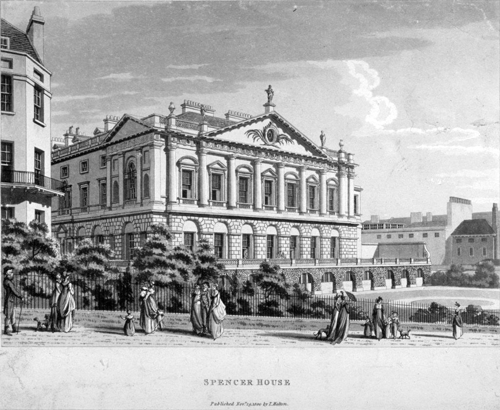 Detail of Spencer House, Westminster, London by Anonymous