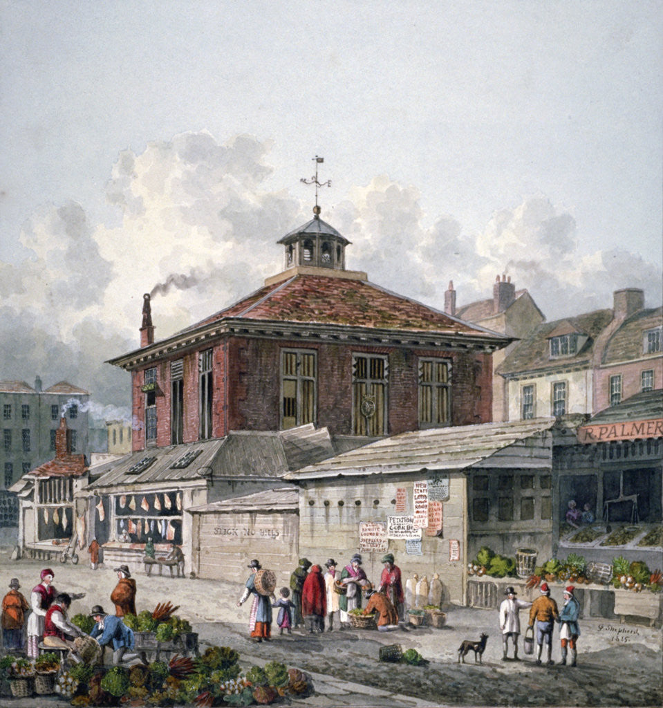 Detail of Clare Market, Westminster, London by George Shepherd