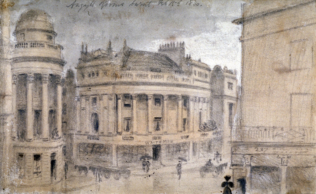 The Argyll Rooms, Little Argyll Street, Westminster, London by Anonymous