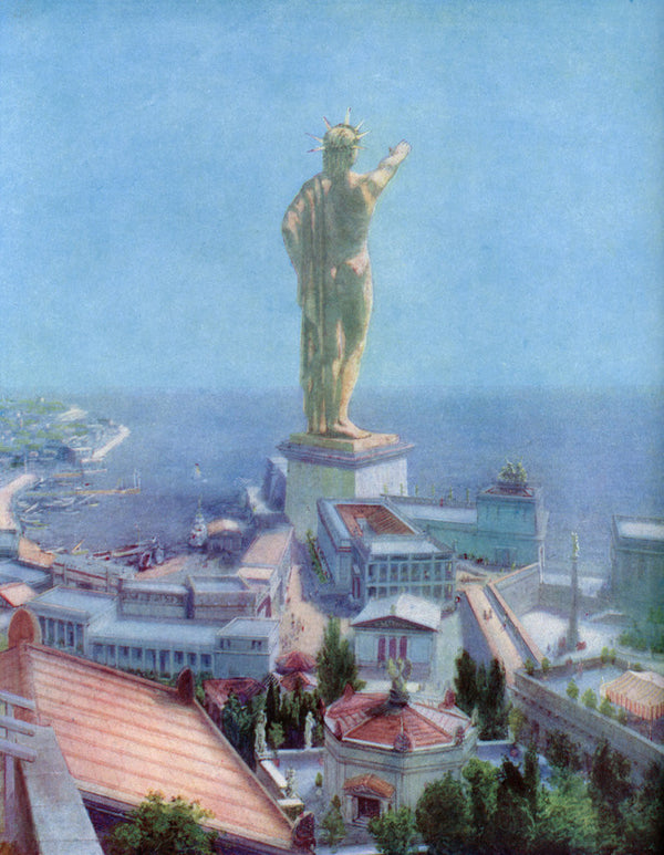 The Colossus Of Rhodes Greece Posters Amp Prints By Anonymous