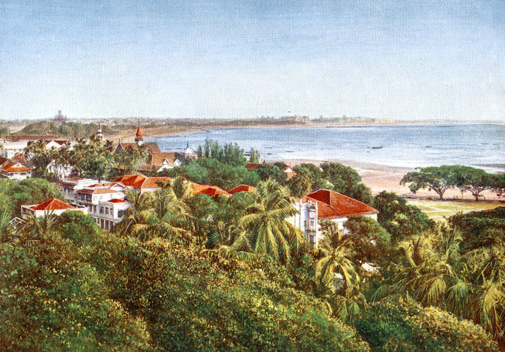 Detail of A view from the Ridge, Bombay, India by Anonymous