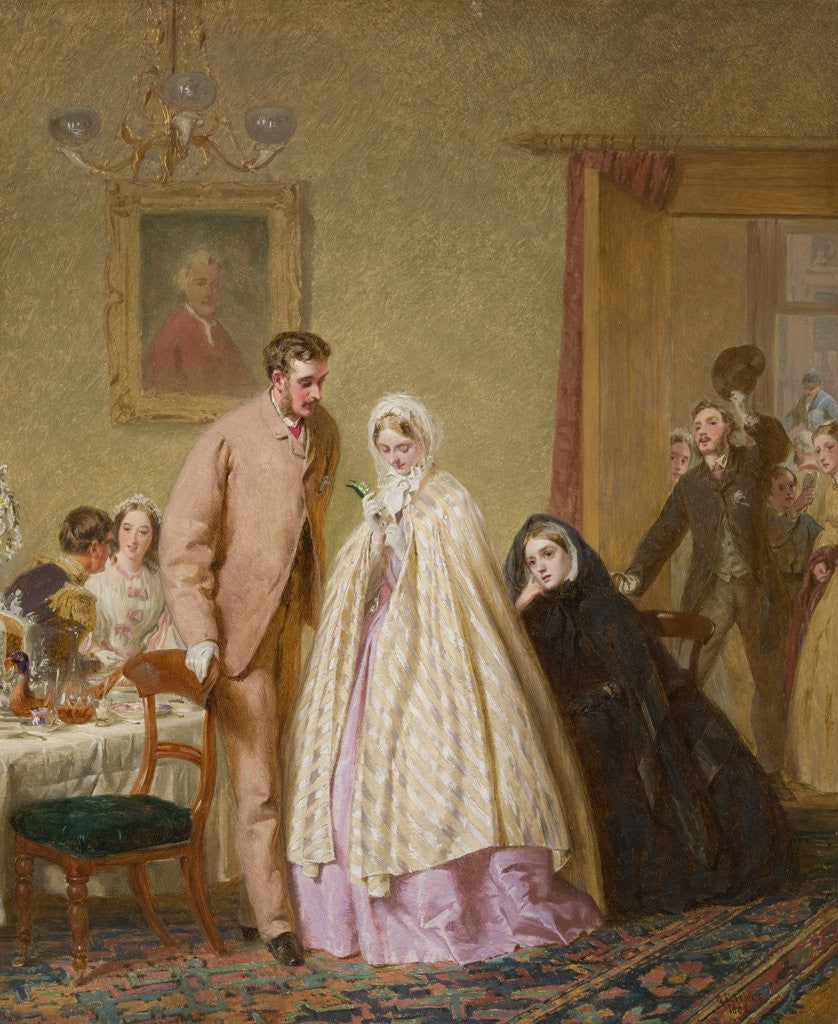 Detail of The Wedding Breakfast by George Elgar Hicks