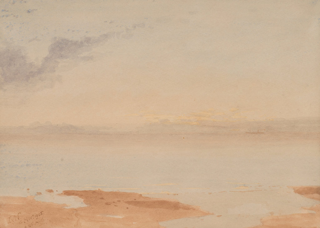 Detail of Grey dawn by John Miller Nicholson