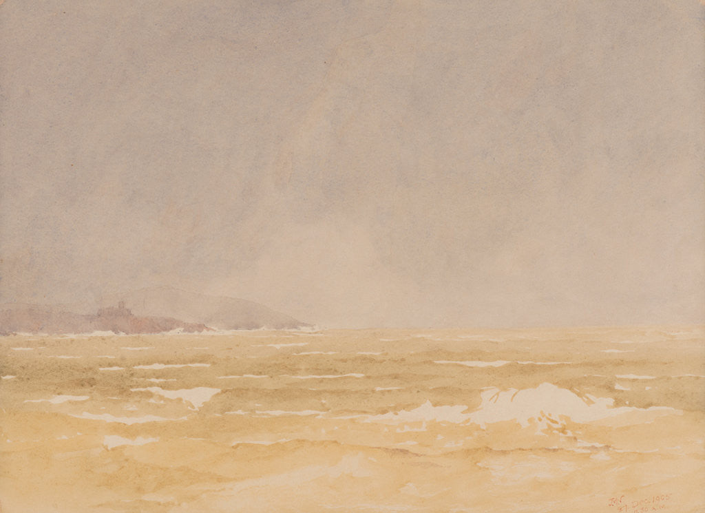 Detail of A gale, Douglas by John Miller Nicholson