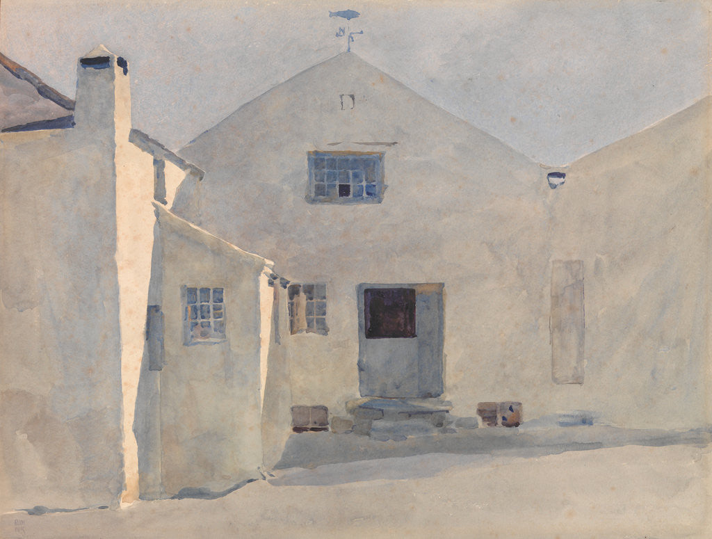 Detail of The Kella Mill, Sulby by Archibald Knox