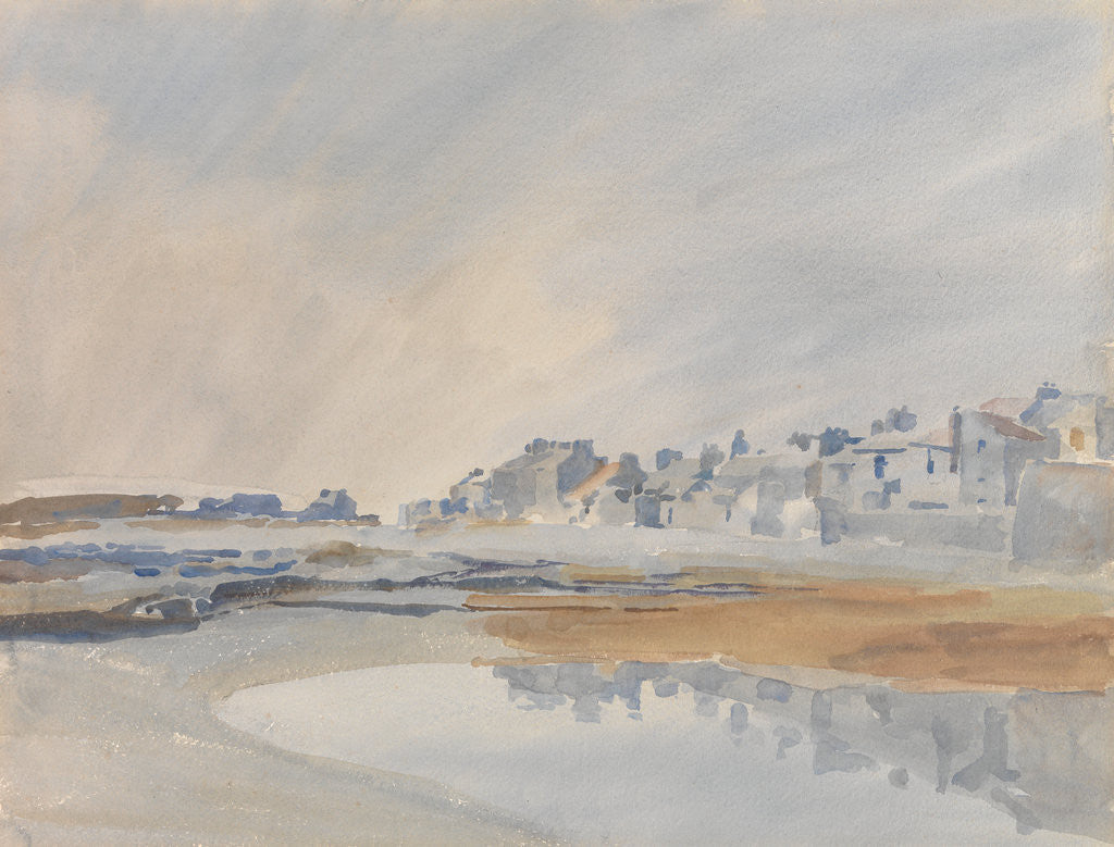Detail of Castletown from Scarlett by Archibald Knox