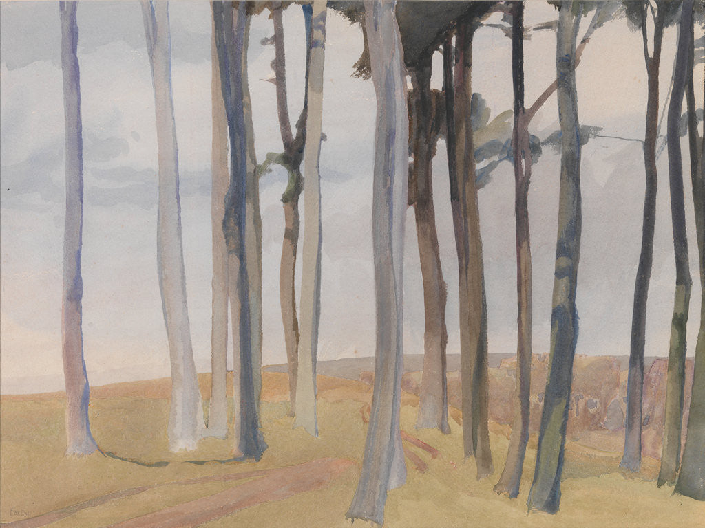 Detail of The Copse, Foxdale by Archibald Knox