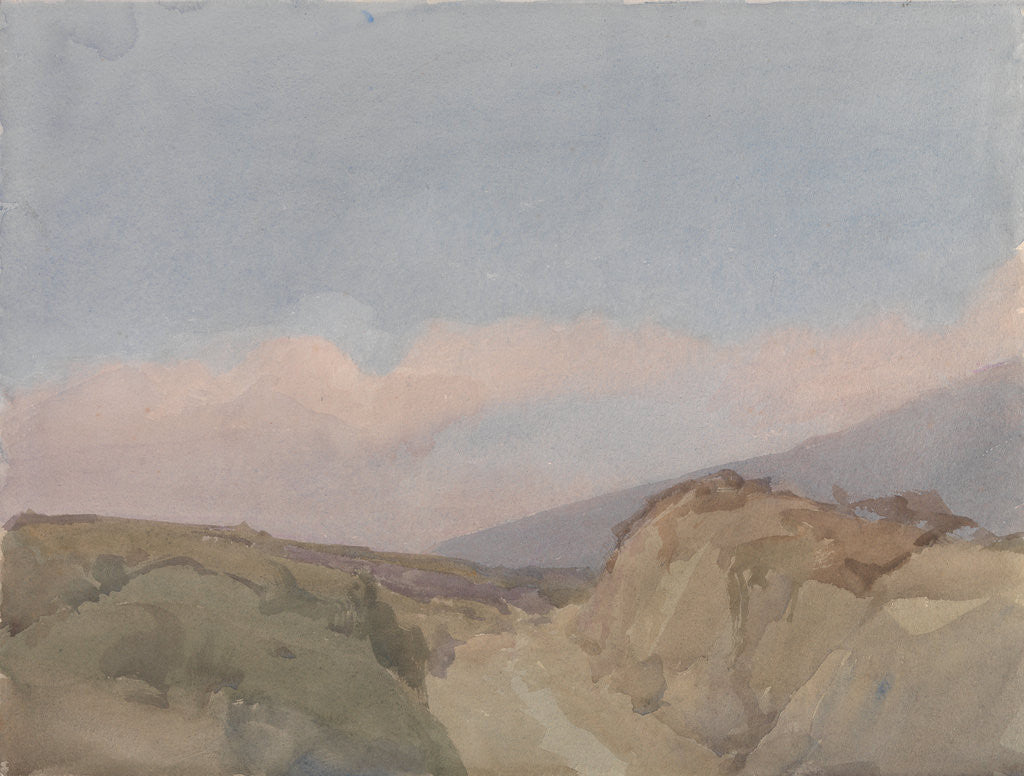 Detail of Granite Mountain Roadway by Archibald Knox