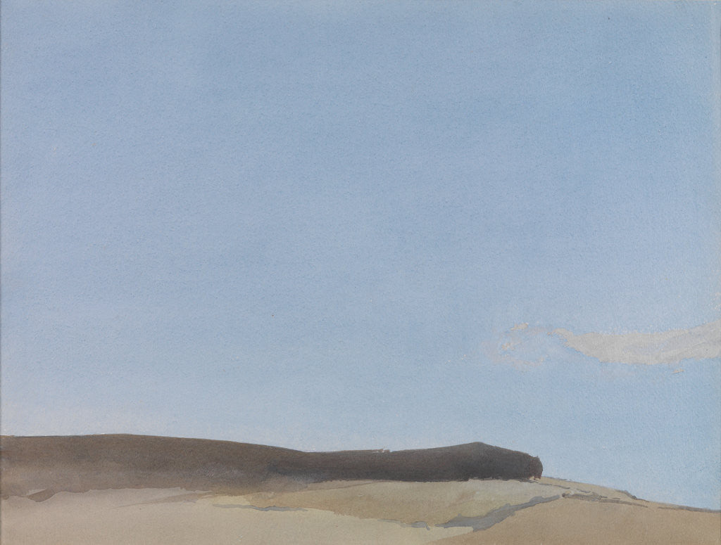 Detail of Blue Afternoon, Aragon by Archibald Knox
