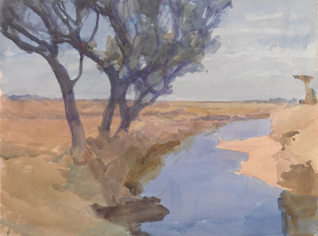 Detail of Blue River by Archibald Knox