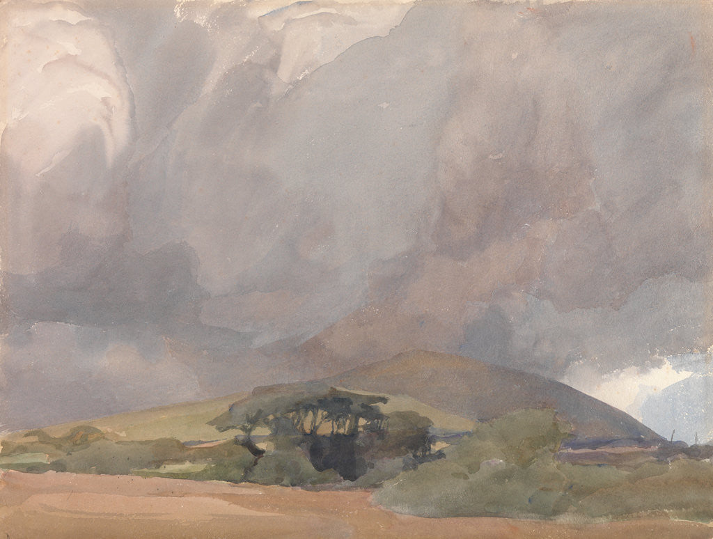 Detail of The Coming Storm by Archibald Knox