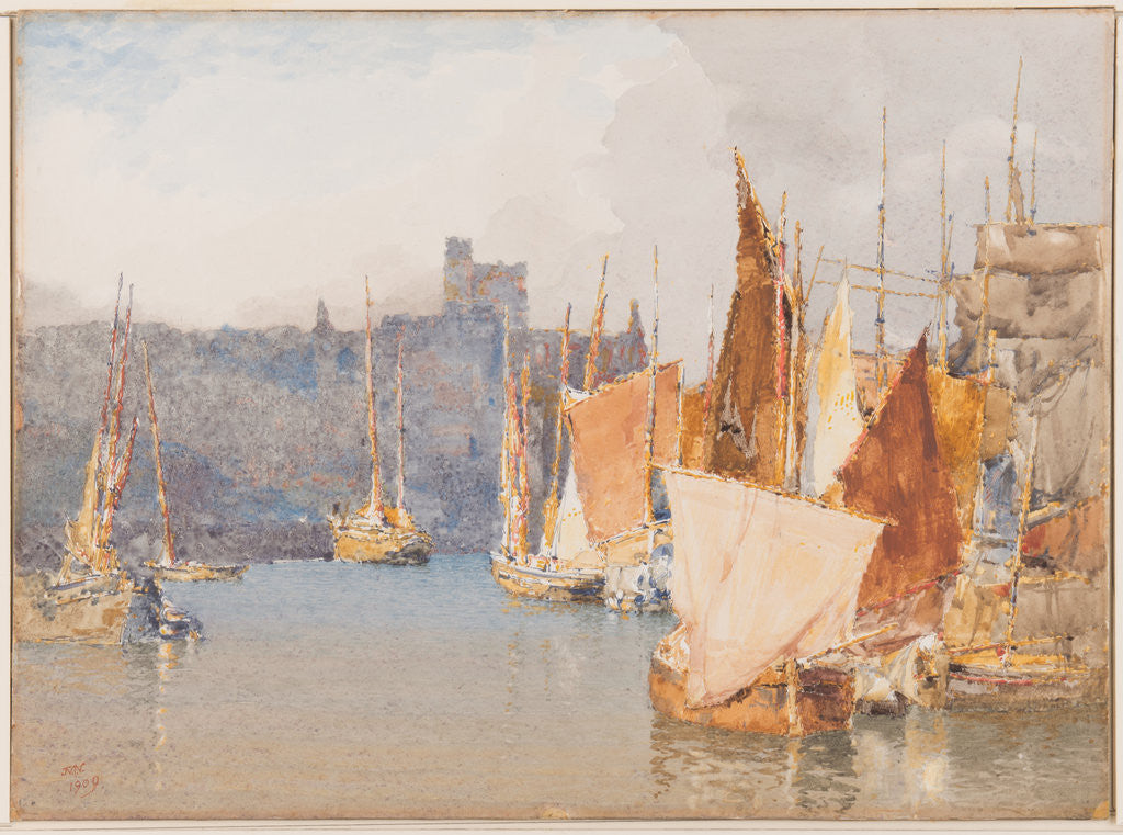 Peel Harbour by John Miller Nicholson