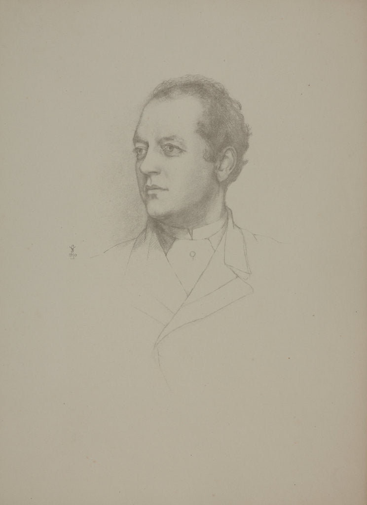 Detail of Lord Charles Beresford, C.B. by Violet Lindsay Manners the Dutchess of Rutland