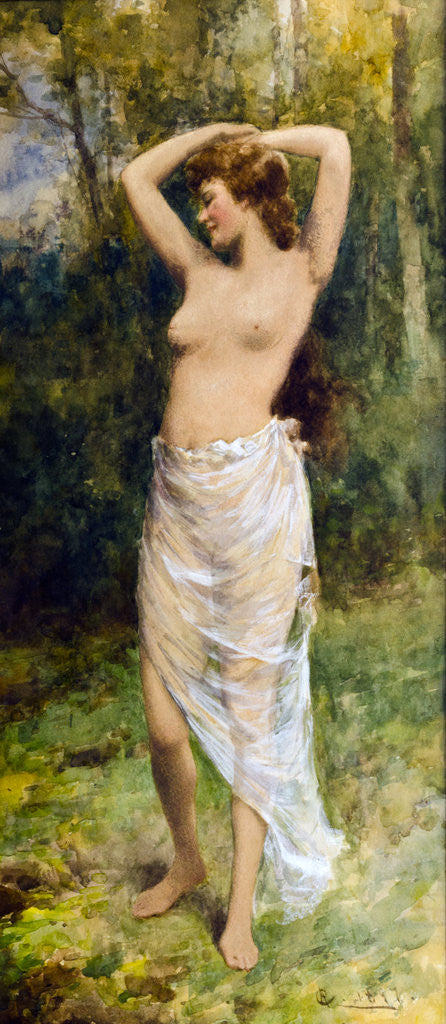 Detail of Bathing Beauty by Alfred Glendening Jnr