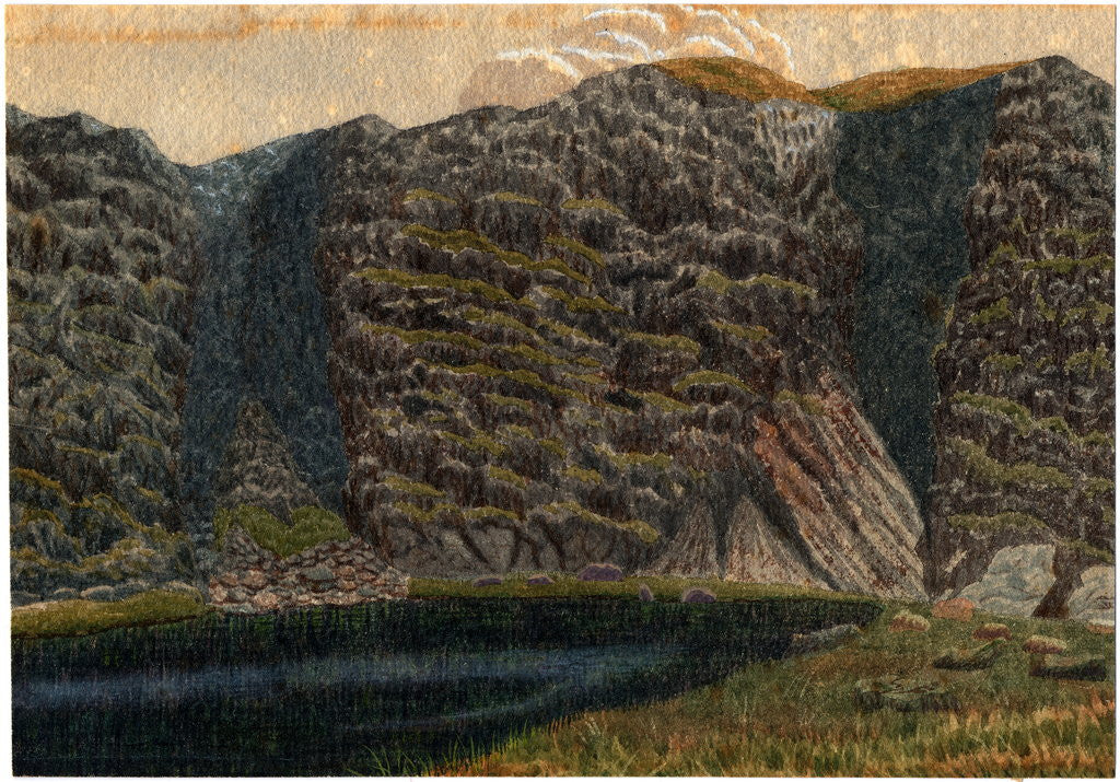 Detail of Helvellyn by Robert Evans Creer