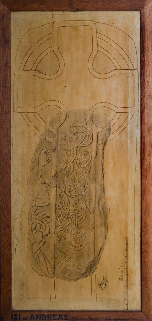Detail of Sigurd Cross Slab by Philip Moore Callow Kermode
