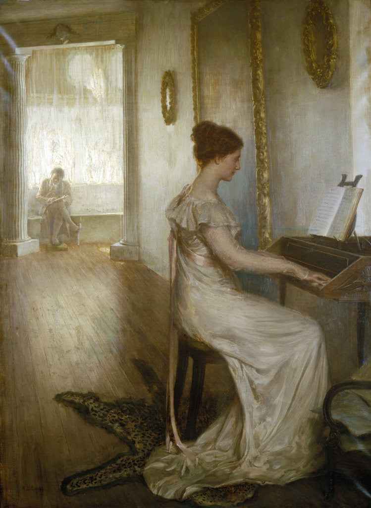 Detail of A sonata of Beethoven by Alfred Edward Emslie