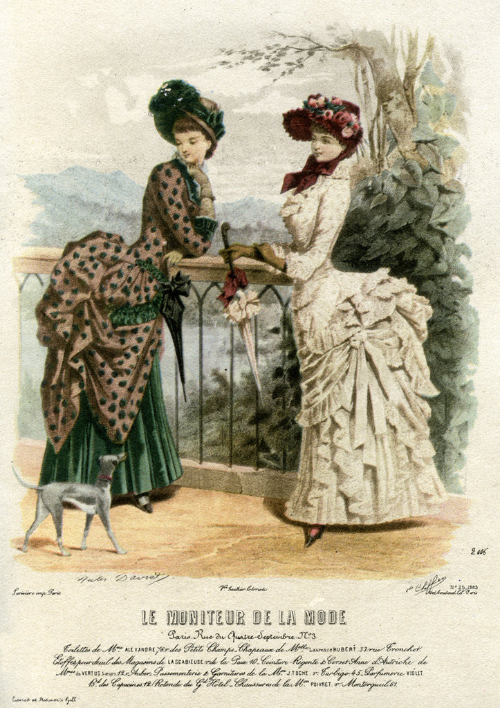 French Fashions Of The 19th Century Posters & Prints By