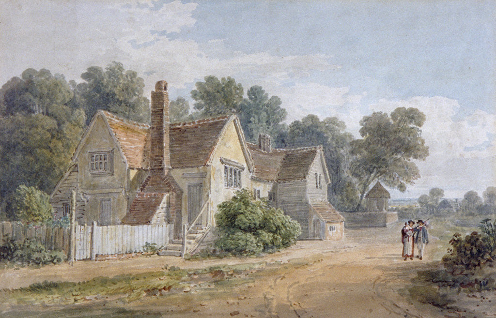 Detail of View at Dorking, Surrey by James Duffield Harding
