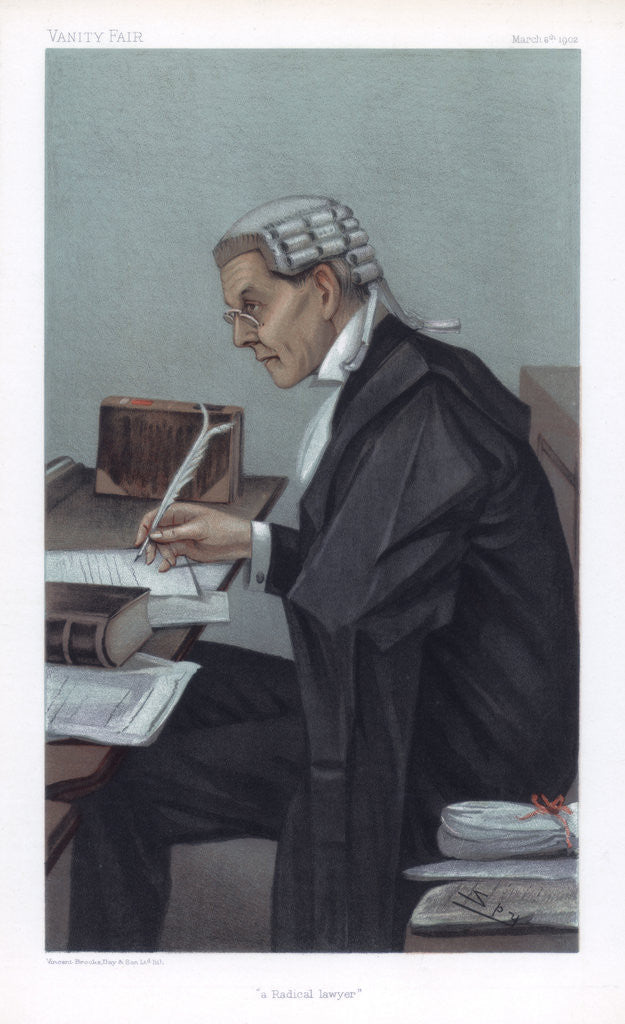 Detail of A Radical Lawyer by Spy