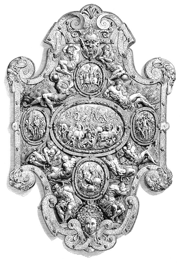 Detail of The State Shield of Charles V by Anonymous