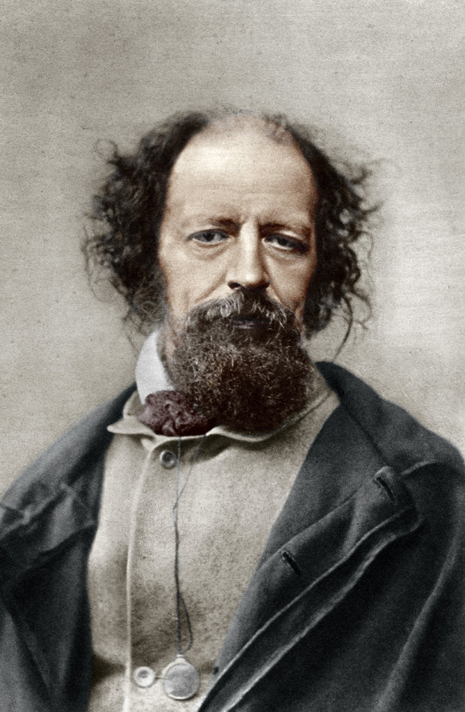 Alfred, Lord Tennyson, Poet Laureate of the United Kingdom ...
