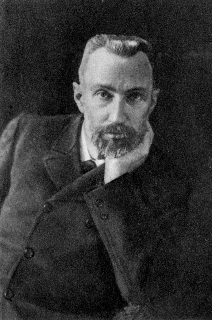 Detail of Pierre Curie, French chemist and physicist by Anonymous