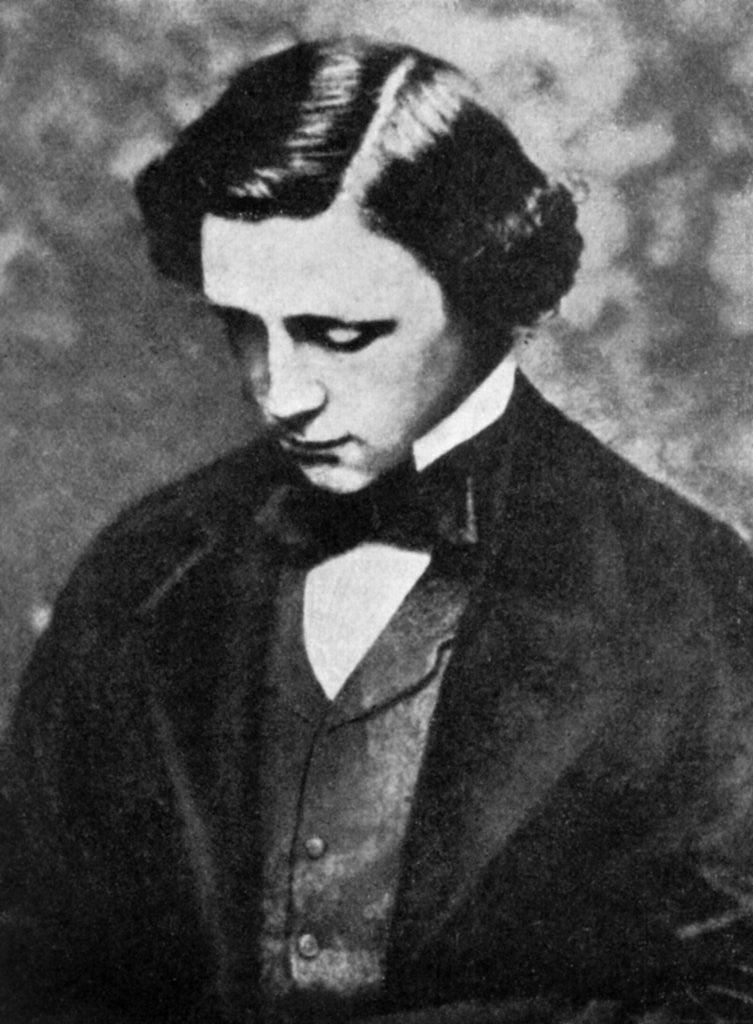 Detail of Lewis Carroll, English author by Anonymous
