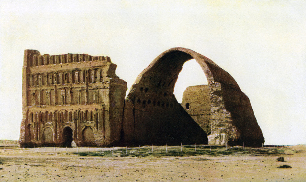 Detail of The Taq-i Kisra, Ctesiphon, Iraq by Anonymous