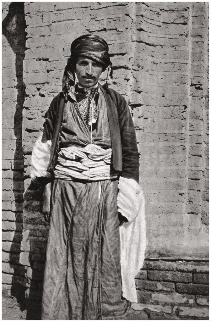 Detail of A Kurdish tribesman from southern Kurdistan, Iraq by A Kerim