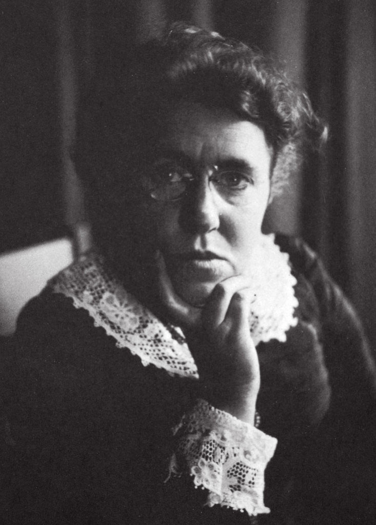 Detail of Emma Goldman, Russian-born American anarchist and agitator by Anonymous