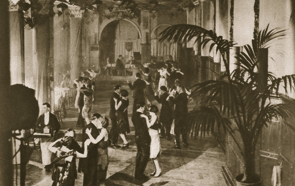 Detail of Members on the dance floor at Murray's Club by Anonymous