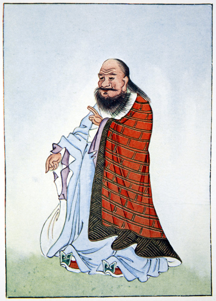 Detail of Lao-Tzu by Anonymous